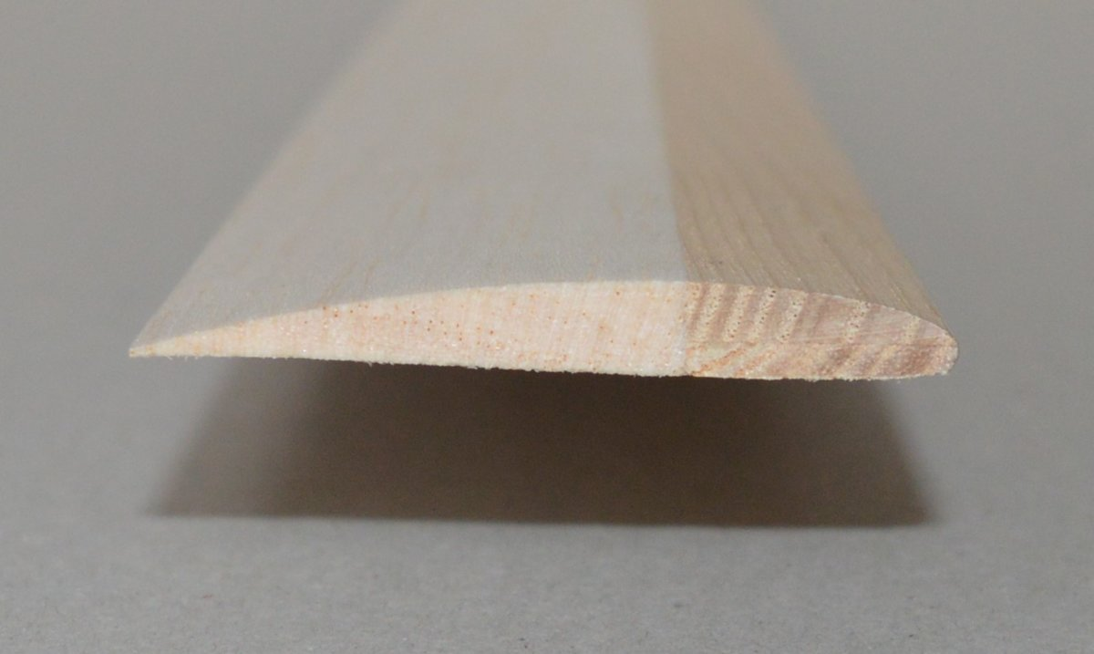 Autogyro rotor blade sheets (SG6042), 55 x 650 mm